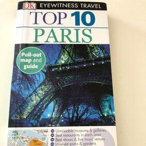 DK Eyewitness Top 10 Paris Travel Guide With Map